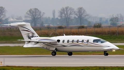 Private Jet Charter | Avanti (LZ-ORO) | Victor